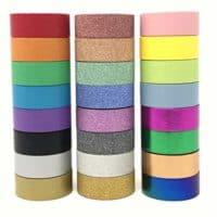 24 Rolls Multi-Purpose Washi Tape Set |