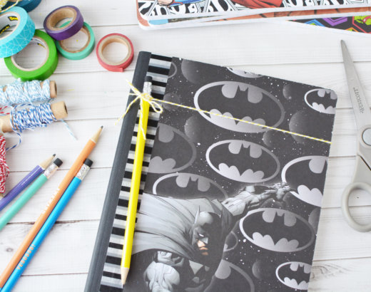How to Make a DIY Notebook Cover