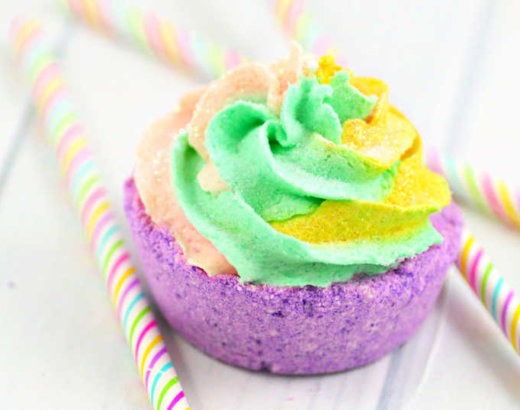 Cupcake Unicorn Bath Bombs