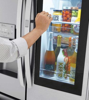 3 Reasons to Love LG InstaView™ Door-in-Door® Refrigerator with Craft Ice™ at Best Buy
