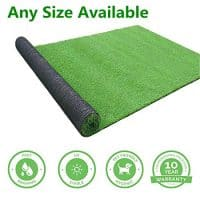 GL Artificial Grass Mats Lawn Carpet Customized Sizes, Synthetic Rug Indoor Outdoor Landscape, Fake Faux Turf for Decor 3FTX8FT(24Square FT)