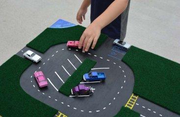 DIY Car Play Table