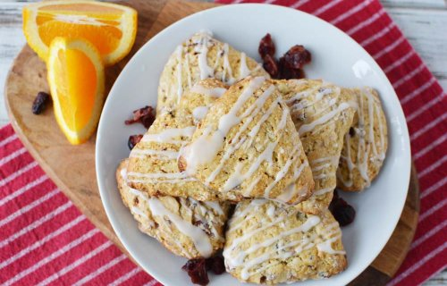 Classic Cranberry Scones Recipe