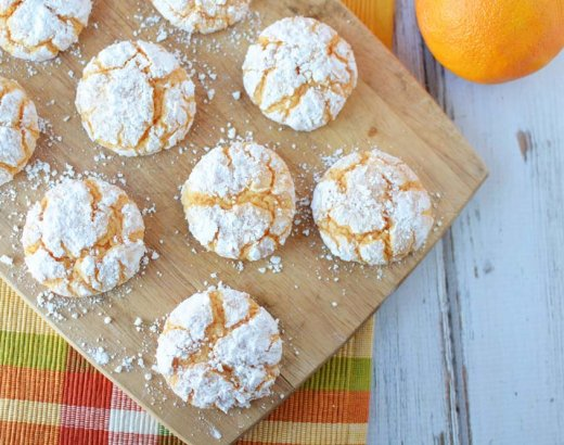 Orange Cake Mix Cookies