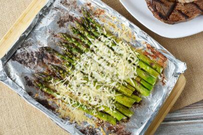 Parmesan Ranch Grilled Asparagus Recipe