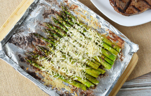 Parmesan Ranch Grilled Asparagus Recipe