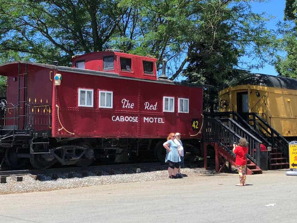 Red Caboose Motel a fun hotel for family vacation