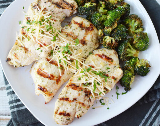 Grilled Parmesan Ranch Chicken Recipe
