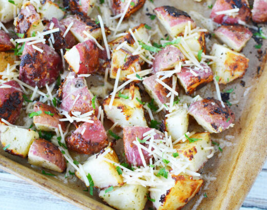 Oven Roasted Parmesan Ranch Potatoes