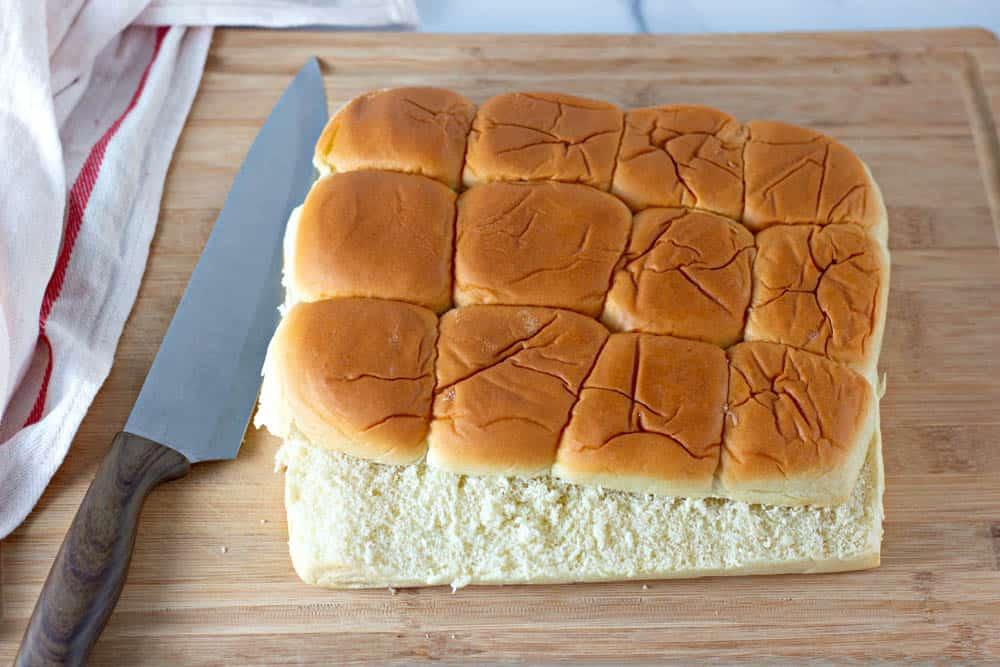 dinner rolls for turkey sliders