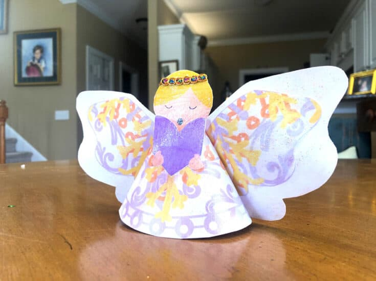 Paper Angel Tree Topper